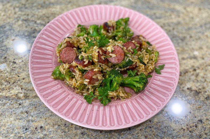 Sausage & Rice - One Pot Meals