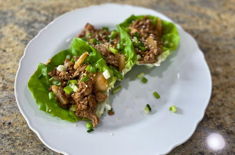 Turkey Lettuce Wraps (PF Chang's)
