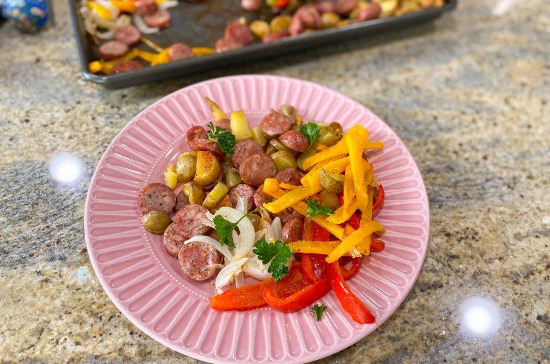 Sausage & Vegetables Sheet Pan