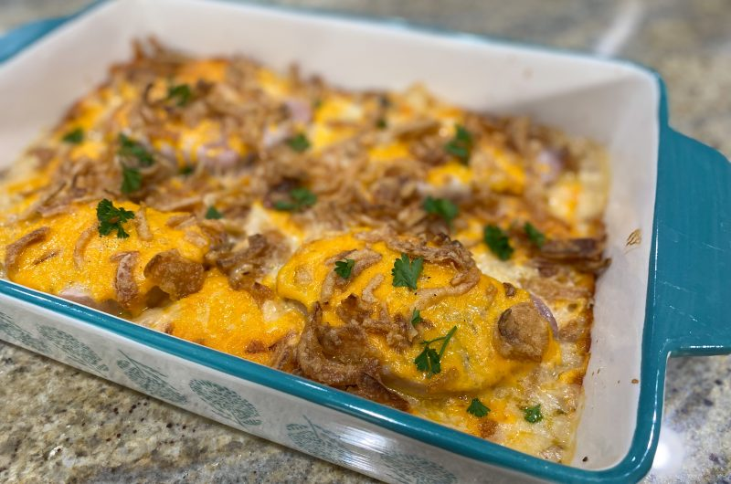 Pork Chop & Potato Casserole
