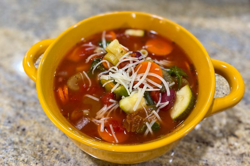 Minestrone Soup - Slow Cooker